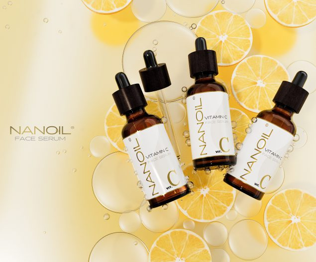 soro facial com vitamina c Nanoil
